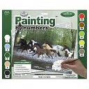 Adult Paint By Number Kit 15-3/8&quot;X11-1/4&quot;-Free Spirit by Royal Brush: Product Image