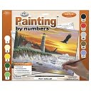 Adult Paint By Number Kit 15-3/8&quot;X11-1/4&quot;-Guiding Light by Royal Brush: Product Image