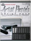 Essentials Artist Pack-Artist Pastels by Royal Brush: Product Image