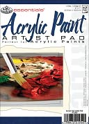 "Essentials Acrylic Paint Paper Pad 5""X7""-17 Sheets by Royal Brush: Product Image"