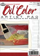 "Essentials Oil Color Paper Pad 5""X7""-17 Sheets by Royal Brush: Product Image"