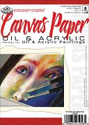 "Essentials Canvas Paper Pad 5""X7""-8 Sheets by Royal Brush: Product Image"