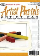 "Essentials Artist Pastels Paper Pad 5""X7""-10 Sheets by Royal Brush: Product Image"