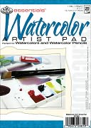 "Essentials Watercolor Paper Pad 5""X7""-20 Sheets by Royal Brush: Product Image"