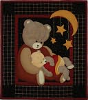 "Baby Bear Wall Quilt Kit-13""X15"" by Rachel's Of Greenfield: Product Image"