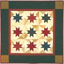 "Scrap Stars Quilt Kit-22""X22"" by Rachel's Of Greenfield: Product Image"