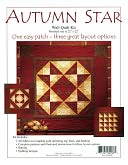 "Autumn Star Wall Quilt Kit-22""X22"" by Rachel's Of Greenfield: Product Image"