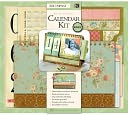 "Paper Crafting Kit 7""X.25""X4.5""-Flipbook Calendar by K&Company: Product Image"