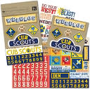 Boy Scouts Embellishment Flip Pack-Cubs &amp; Webelos by K&amp;Company: Product Image