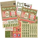 Boy Scouts Embellishment Flip Pack-Boy Scouts by K&amp;Company: Product Image