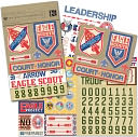 Boy Scouts Embellishment Flip Pack-Eagle Scouts by K&amp;Company: Product Image