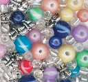 Bracelet Blends Beads-Stripe Mix Multi by Cousin: Product Image