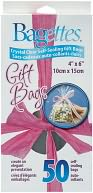 "Bagettes Self-Sealing Gift Bags 4""X6"" 50/Pkg-Clear by Cousin: Product Image"