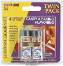 Candy &amp; Baking Flavoring .125 Ounce Bottle 2/Pkg-Cinnamon Oil by Lorann Oils: Product Image