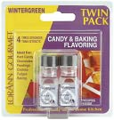 Candy &amp; Baking Flavoring .125 Ounce Bottle 2/Pkg-Wintergreen by Lorann Oils: Product Image