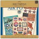 "Military Scrap Kit 12""X12""-Air Force by K&Company: Product Image"
