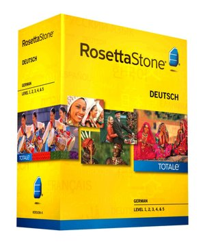 Rosetta Stone - German - Level 1, 2, 3, 4, 5 Companion