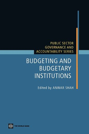 Budgeting and Budgetary Institutions cover