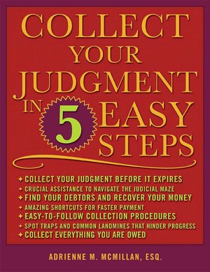 Collect Your Judgment in 5 Easy Steps cover