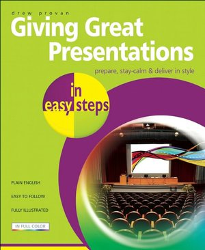 Giving Great Presentations in Easy Steps cover