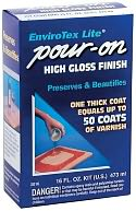 EnviroTex Lite Pour-On High Gloss Finish-16 Ounces by Environmental: Product Image