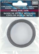 "ArtEmboss Metal Foil Tape 1/4""X16 Feet-Aluminum by AMACO: Product Image"