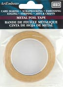 "ArtEmboss Metal Foil Tape 1/4""X16 Feet-Brass by AMACO: Product Image"