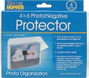 "Cropper Hopper Photo/Negative Organizer 4/Pkg-Frost 4""X6"" by Advantus: Product Image"