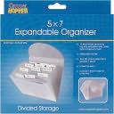 "Cropper Hopper Expandable Paper Organizer-Frost 5""X7"" by Advantus: Product Image"