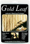 Metal Leaf Sheets 5.5&quot;X5.5&quot; 25/Pkg-Gold by Speedball Art Products: Product Image