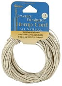 Hemp Cord 48# 8 Yards/Pkg-Natural by Darice: Product Image