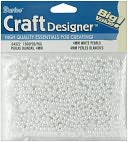 Pearls 4mm 1500/Pkg-White by Darice: Product Image