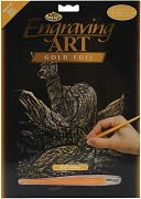 Gold Foil Engraving Art Kit 8&quot;X10&quot;-Deer by Royal Brush: Product Image