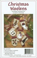 Christmas Woolens Ornament Kit-Set Of Six by Rachel's Of Greenfield: Product Image