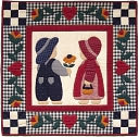 "Best Friends Quilt Kit-22""X22"" by Rachel's Of Greenfield: Product Image"