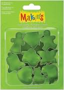 Makin's Clay Cutters 9/Pkg-Everyday by Makin's USA: Product Image