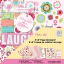"Me & My Big Ideas Page Kit 8""X8""-Chester/Pink by Me & My Big Ideas: Product Image"