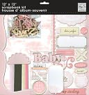 "Baby Girl Page Kit 12""X12"" by Me & My Big Ideas: Product Image"