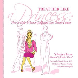 Treat Her Like a Princess How to Help Your Girlfriend with Breast Cancer cover
