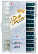 Bead Boutique Bead Box-Black Tie Assorted Beads by Blue Moon Beads: Product Image