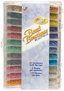 Bead Boutique Bead Box-Multi Color Silver Lined Seed Beads by Blue Moon Beads: Product Image