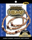Hemp Jewelry Kits-Wood Bead by Toner: Product Image
