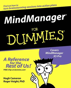 MindManager For Dummies cover