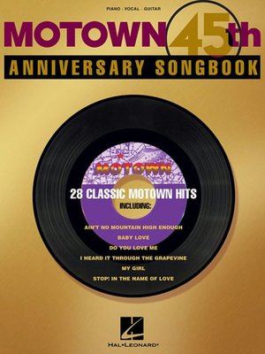Motown 45th Anniversary Songbook