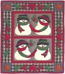 "Snow Friends Wall Hanging Quilt Kit-13""X15"" by Rachel's Of Greenfield: Product Image"