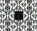 "American Crafts Patterned 3-Ring Album 12""X12""-Black & White Damask by American Crafts: Product Image"