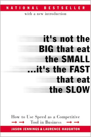 English audiobooks download free It's Not the Big That Eat the Small... It's the Fast That Eat the Slow: How to Use Speed as a Competitive Tool in Business