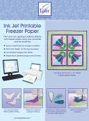 "Ink Jet Printable Freezer Paper-8-1/2""X11"" 10/Pkg by June Tailor: Product Image"