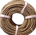 Basketry Sea Grass #3 4.5mmx5mm 1 Pound Coil-Approximately 210' by Commonwealth Basket: Product Image