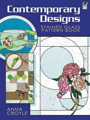 Ebooks free download german Contemporary Designs Stained Glass Pattern Book PDB